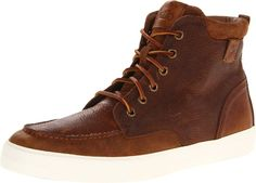 4cb218cdb855b4 Polo Ralph Lauren Men s Tedd High-Top Sneaker High-top leather fashion  sneaker featuring moccasin toe and leather lacing Textured toe bumper