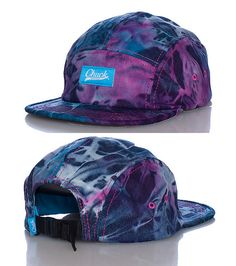 e5e04bc8535 CHUCK Camper style strapback cap Embroidered logo patch on front of hat  Adjustable strap on back for ultimate comfort