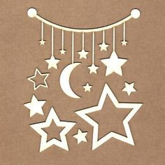 """Set """"Boy from the sky"""" - chipboard para Scrapbooking 3d Paper Crafts, Circuit Design, Ramadan Decorations, Chipboard, Paper Cutting, Cake Toppers, Stencils, Cricut, Baby Shower"""
