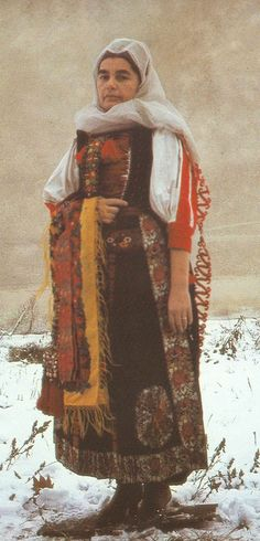 Kalotaszeg Woman -- Beautiful