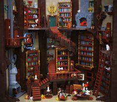 Potion Brewing Lego Humor, Lego Universe, Lego Halloween, Lego Furniture, Lego Castle, Lego Room, Cool Lego Creations, Lego Worlds, Lego Design