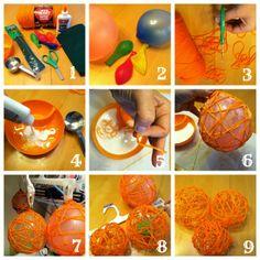 Pumpkin Yarn Craft
