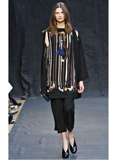 Hermes: I would wear this top as a dress with some killer heels.