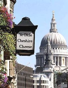 Rebuilt in 1667 after The Great Fire of London  Ye Olde Cheshire Cheese is one of London's oldest pubs. The original pub was built in 1553!