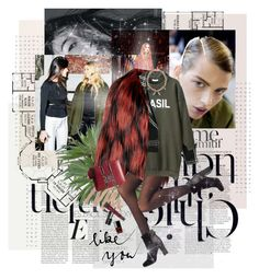 """Untitled #1100"" by noviii ❤ liked on Polyvore featuring Anja, Gucci, SPANX, Jigsaw, Chanel, Smashbox, Lane Bryant and Mawi"