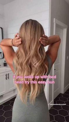 Work Hairstyles, Easy Hairstyles For Long Hair, Pretty Hairstyles, Easy Hairstyles For Weddings, Easy Braided Hairstyles, Long Hair Dos, Everyday Hairstyles, Summer Hairstyles, Great Hair