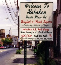 I LOVE ME SOME HOBOKEN,NEW JERSEY!! My family and I went there last Summer to visit Carlos Bakery (Cake Boss). It is the LOVELIEST little town I have EVER VISITED!!  I could DEF see me retiring to Hoboken!!