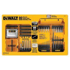 DEWALT Drilling/Driving Set (80-Pieces)-DW2587 - The Home Depot