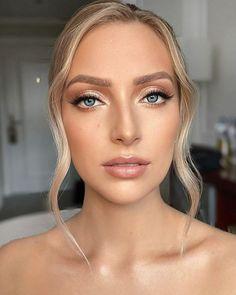 30 Wedding Makeup Looks To Be Exceptional ❤ wedding makeup looks natural gold shimmer eyeshadows mpobedinskaya #weddingforward #wedding #bride #weddingmakeup #weddingmakeuplooks