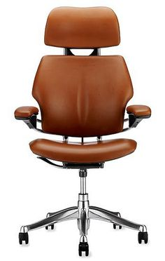 Niels Diffrient's Freedom Chair (1999) was a breakthrough in ergonomic task seating. With a height-adjustable headrest, the headrest version offers customized support for the head, allowing for proper eye-level positioning when working long hours at a computer station. The Freedom Chair is designed to fit almost all body types. The seat depth is adjustable to properly support the seat and thighs, while the adjustable back support helps keep the lumbar region of the body in line. Often, ...