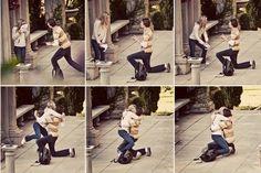 La propuesta sorpresa de Daniel. | Las 35 fotos más conmovedoras que alguna vez se hayan tomado