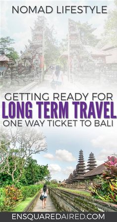 pursuing my dream: perpetual travel. Read more about how I left home to pursue a nomadic life and some lessons I learned about packing for around the world trip. Long term travel tips | Long term travel articles | Long term travel life | long term travel wanderlust | nomad lifestyle |nomad living |nomad travel