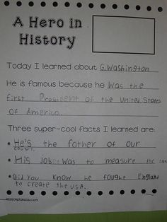 Here is a sample of their expository writing. We did the top together and they had to come up with three facts on their own based on our readings and our notes from the lesson. Looks just right for first grade. 3rd Grade Social Studies, Social Studies Activities, Teaching Social Studies, Teaching Writing, Student Teaching, Writing Activities, Teaching Ideas, Expository Writing, Library Lessons
