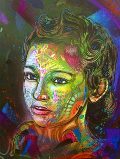 French artist Christian Guémy aka C215 seen on the streets from around the world.