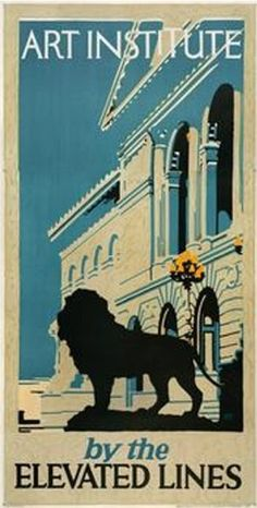 Chicago Transit poster by Elmes