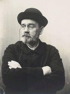 Émile Édouard Charles Antoine Zola (2 April 1840 – 29 September 1902)