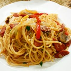 Made my childhood #Japanese favorite neopolitan spaghetti #cravings