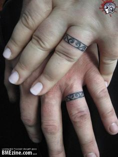 wedding ring tattoo designs Ring Finger Tattoo Wedding