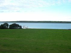 View of Shannon River from Glin Castle Ireland