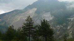 Vajont - Frana del Monte Toc