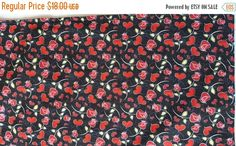 ON SALE Valentine's Day Table Runner Hearts Roses by MakeMeOver