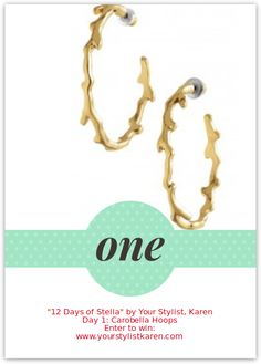 Enter this amazing giveaway to win a gorgeous Stella & Dot piece! www.yourstylistkaren.com