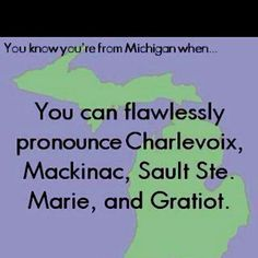 Speak Michigander?