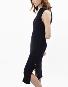 Wool and the Gang's I Feel Love Dress in Midnight Blue