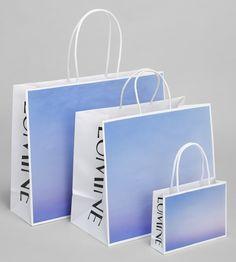 good design company Fashion Packaging, Bag Packaging, Print Packaging, Graphic Design Branding, Identity Design, Shopping Bag Design, Paper Bag Design, Packaging Design Inspiration, Cool Designs
