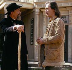 """Kung Fu"" John Carradine and David Carradine"