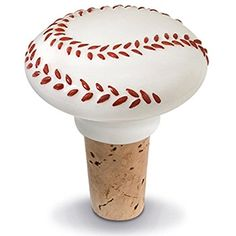 Wine Stoppers - Epic Products Baseball Ceramic Bottle Stopper 225Inch *** Want to know more, click on the image.