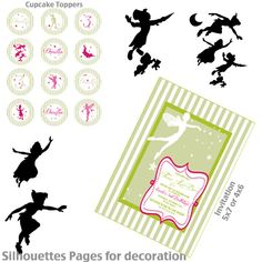 Neverland Party Printable KIT - Fairy Peter Pan Party