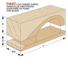 A good sanding block can help you sand faster and better. Some scrap wood and a few simple steps are all it takes to build this basic, must-have shop tool. Sanding Tips, Sanding Block, Wood Joining, Wood Tools, Garage Workshop, Woodworking Jigs, Lifehacks, Tool Box, Carpenter