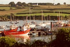 "Brittany. Finistère Department. Village of ""Lanildut"". 1999."