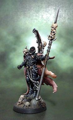 Archon, Dark, Drukhari, Eldar, Giger, Skull - Dark Eldar Archon - Gallery - DakkaDakka | Fear not the troll, the n00b, the ad-bot.