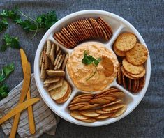 Your big game bash MVP: Buffalo Chicken Dip. Click for the full recipe.