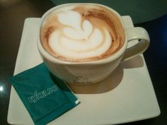 Hot cappucino at Excelso Cafe (Cilandak Town Square) #coffeetime