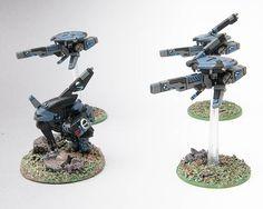 Tau Sniper Drones with Urban Cammo
