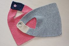 """Baby-Bib-o-Love"" from Mason Dixon knitting."