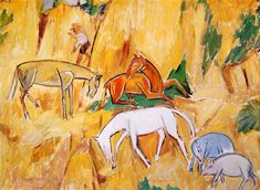 Larionov, Mikhail - Horses