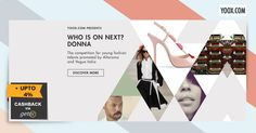 Who is on Next? #Yoox Presents the competiton for young fashion + 4% #Cashback from Getex #Singapore. Shop Now http://yoox.ly/1VRTEN9