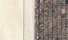I confini più strani del mondo: quando la divisione c'è e si vede - Repubblica.it: Messico-USA. Ap Human Geography, Political Geography, Call For Entry, Colorado, Weird Pictures, Baja California, Nassau, Bolivia, Haiti