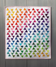 Lombard Street Quilt Pattern (they even have a free coloring page download to plan the quilt!)
