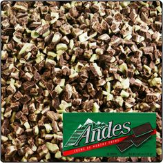 Chances are that you've had an Andes at some point in your life. Made by BCTGM members, Andes is the number-one after-dinner mint. Deliciously refreshing, Andes Crème de Menthe has been an American favorite since the 1950's.
