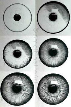 Eye Art..Pencil Shading — Steemit