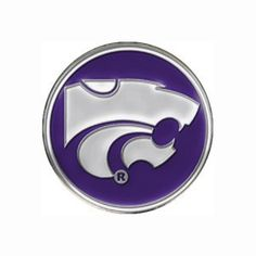 Golf Ball Marker - NCAA - Kansas State Wildcats by Metalback. $2.99. Our classic shaped round magnetic golf ball marker hat clips are finely crafted to assure the magnet is powerful enough to hold the ball marker in place. Unlike many hat clips, our hat clip has an invisible magnet to prevent obstruction of design. See our custom catalog section for details on how to make your own custom golf ball marker hat clip.