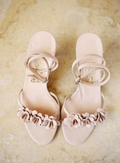 #Shoes | #Pink | Jessica Burke Photography | See the wedding on SMP - http://www.StyleMePretty.com/2014/01/02/romantic-diy-napa-valley-wedding-at-andretti-winery/