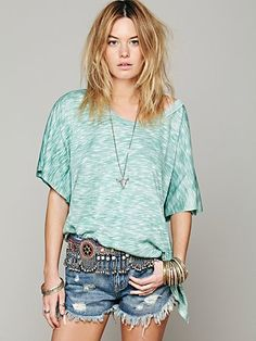Free People We The Free Big Moment Tee