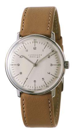 Junghans Watches: Max Bill Mechanical Men's Watch Model 3701   NOVA68 Modern Design