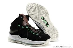 Nike Lebron X  EXT Black Suede QS For Sale